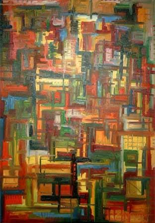 Was nun | Öl | 92x63cm | 2004