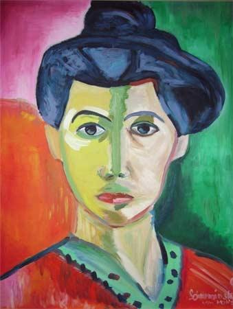 Inspiration Matisse | Öl | 60x50cm | 2007